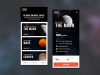 SPACED mobile app