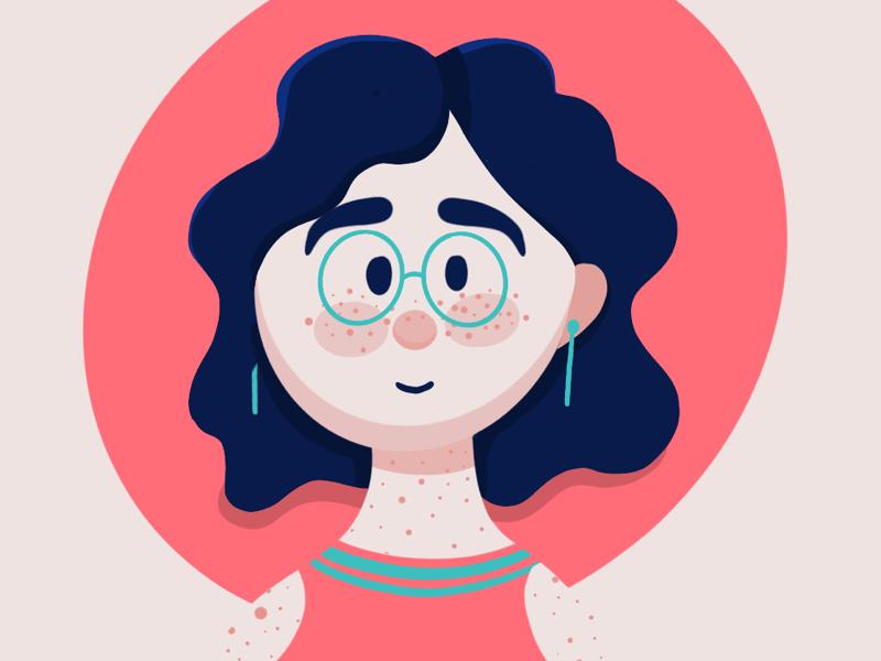 Hello Dribbble! character design procreate illustration