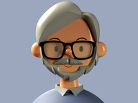 Hayao Miyazaki Toy Face — 3D Avarat Bundle anime 3d animation c4d toy faces product freebie cute character design avatar plugin list illustration ux ui design brand app abstract 3d hayao miyazaki