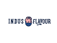 Indus Flavour Logotype and Logomark