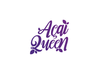 Acai Queen Logotype
