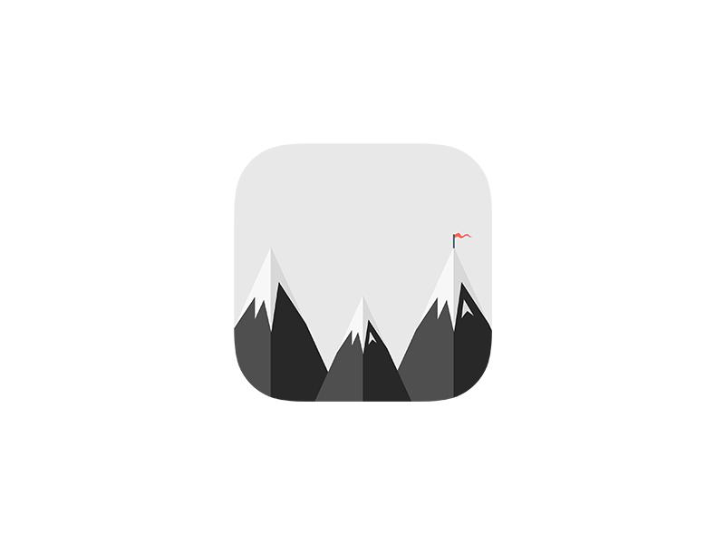 Wandering Logomark and App Icon logo app icon logo design icons branding identity travel wander