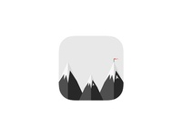 Wandering Logomark and App Icon