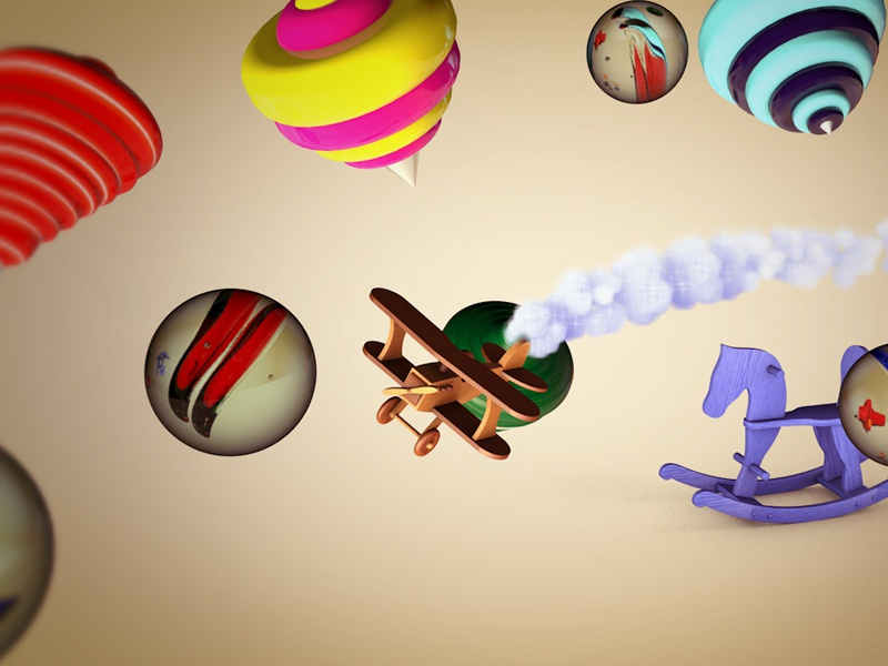 Mr.Bumbel's Museum of Toys advertising commercial animation motion graphics branding museum