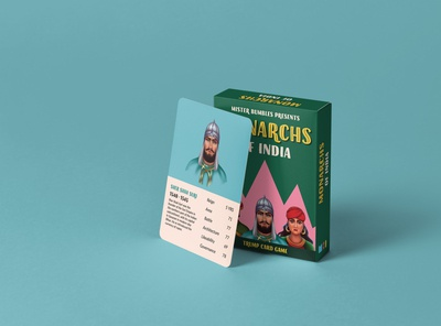 Monarchs of India — Trump Card Game