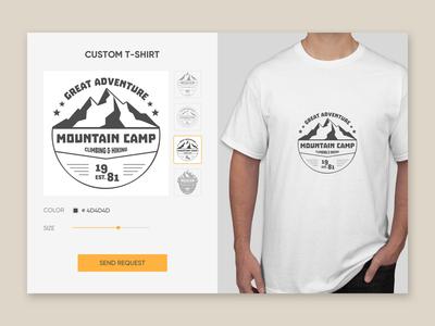 Day 015   T shirt Creator
