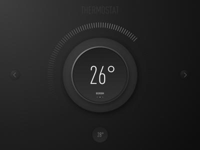Day 020   Thermostat Widget