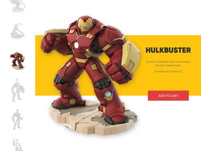 Day 027 - Hulkbuster