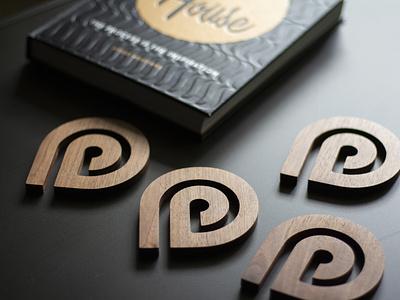 Custom Wood Logo Coasters geometric minnesota icon handcrafted cnc homemade brand branding logo walnut wood coasters