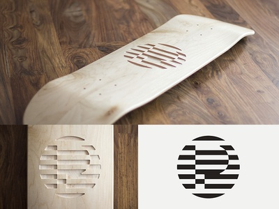 Skateboard Carving