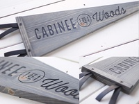 CABINEE (1 of 1) Woods // Wood Pennant