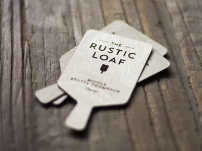 Laser Cut // Logo & Business Card