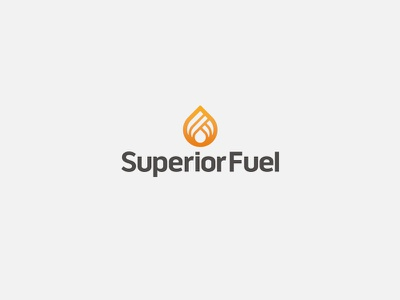 Superior Fuel // Logo warm icon propane logo