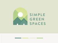Simple Green Spaces Logo