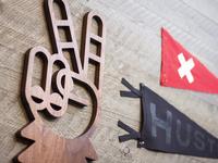 Solid Wood // Sasquatch Peace Sign