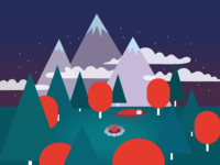 Cosy camping nights