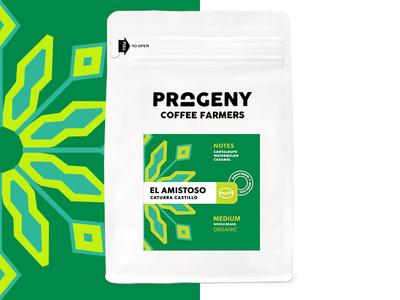 Progeny Coffee - El Amistoso packaging coffee