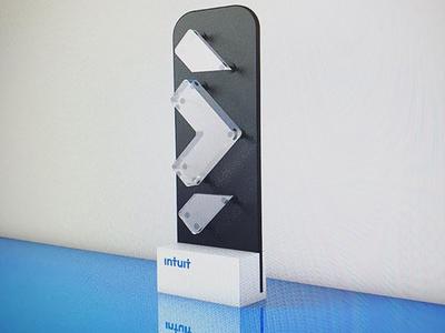 Intuit Futures - Award cinema 4d award logo identity