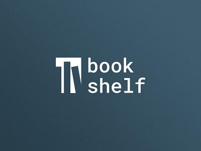 bookshelf книжный магазин книжная полка книги книга лого логотип books bookshop bookshelf learning reading book branding logo 2d logo