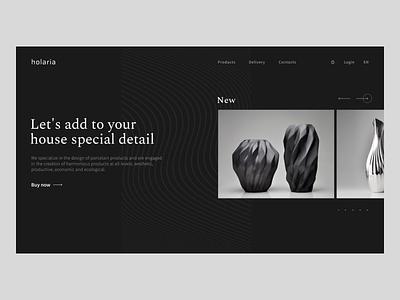 Special detail website ux web ui design
