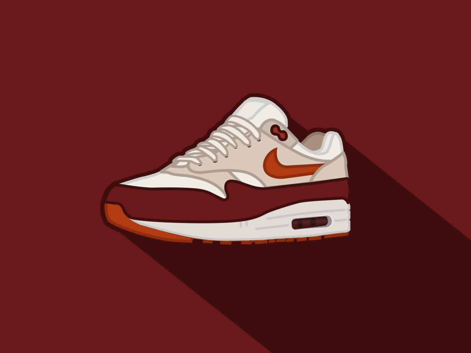 Nike Air Max 1 Illustration by gabriel