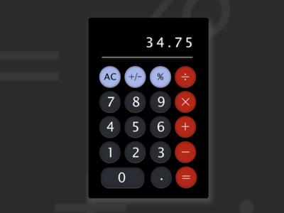 Calculator UI