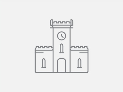 Clock Tower Icon