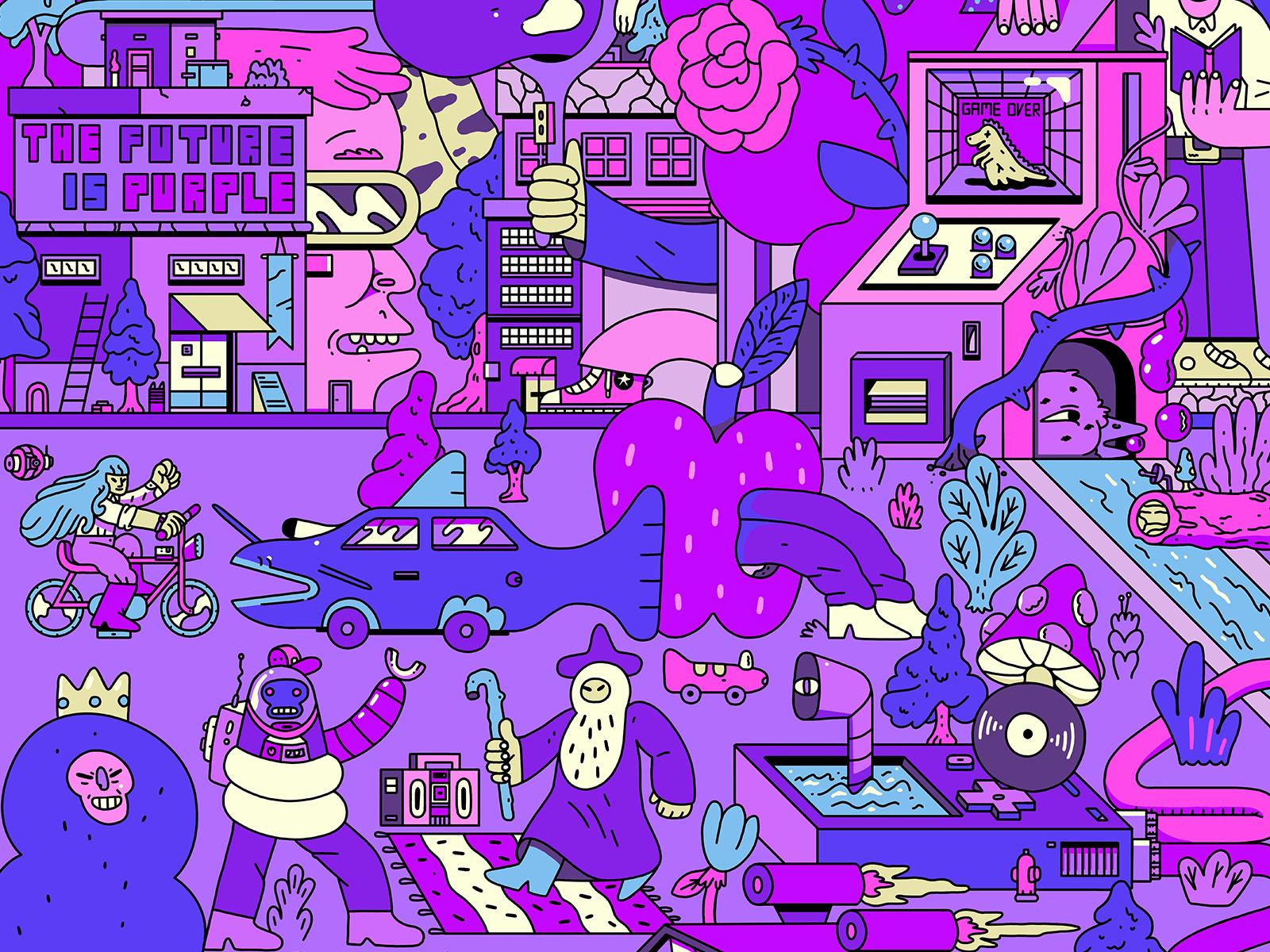 Future purple