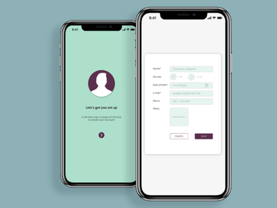 Daily UI #082 100 day challenge form mobile design dailychallenge dailyui uichallenge ui