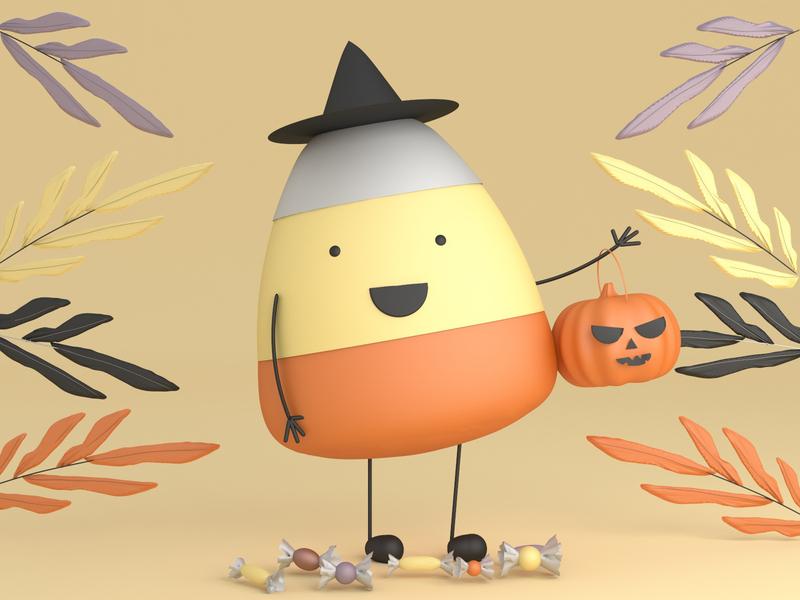 3D Halloween illustration 3dgraphics 3d art 3d