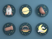 3D space pictograms