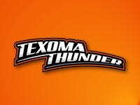 TEXOMA THUNDER - Minor League Sports logo proposal