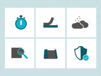 Benefits of Hydrodemolition Icons