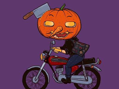 Trick or Treat pumpkin halloween