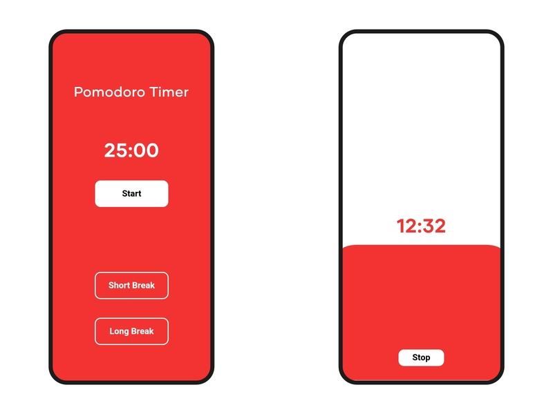 DailyUI::014 (Countdown Timer) countdown timer countdown timer pomodoro ui dailyui
