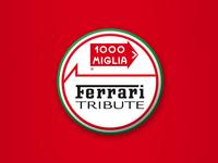 Ferrari Tribute to 1000 Miglia Logo