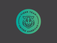 Logo design for Criteo's Tiger Team