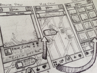 Motlee UI Sketches