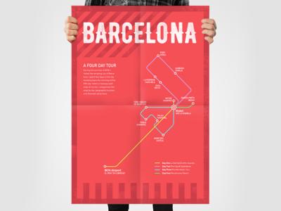 Barcelona: A four day tour