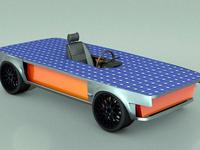 Hydrofuel Solar Car Design