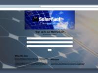 SolarFuel Launchrock