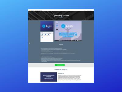 Update OS Website