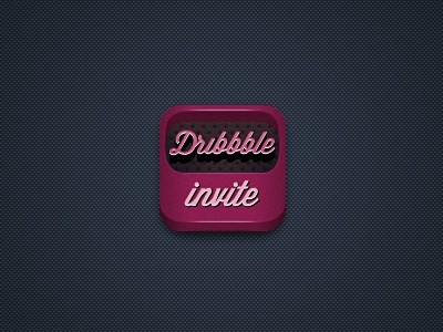One Dribbble invite invite free dribbble icon dark competition invitation draft prospect