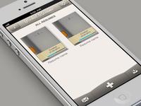 Pocket Resume redesign