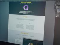 Seven Quark webpage