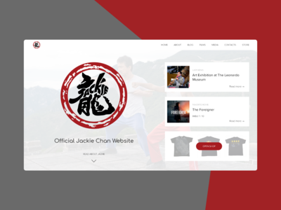 Jackie Chan - Official website