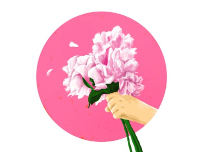 Flower to You (Happy New Year) happy new year propose love graphic flower illustration illust flower beautiful