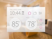 Daily UI #021 Home Monitoring Dashboard