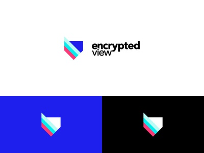 Encrypted view logo