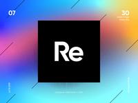 #7 Re logomark
